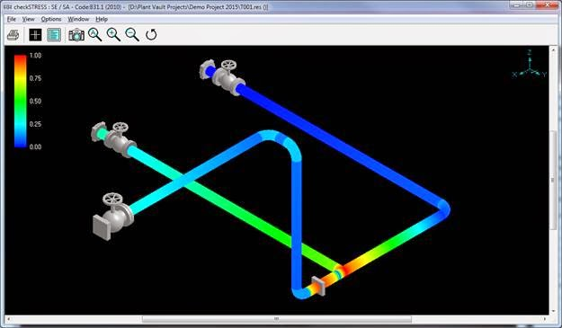 using checkstress together with autocad plant 3d a piping designer can quickly and easily create a code compliant piping layout by simply reviewing a - Autoplant 3d