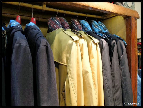 Seville boutique El Ganso hommes trenchs marque espagnole casual chic