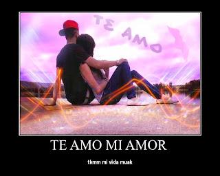 Frases De Amor:Te Amo Mi Amor Te Quiero Mucho Mucho Mi Vida Muak