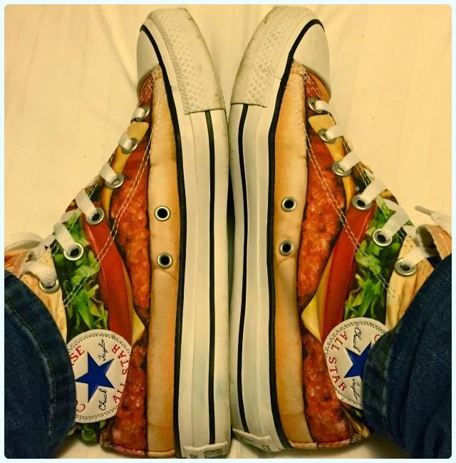 Burger feet
