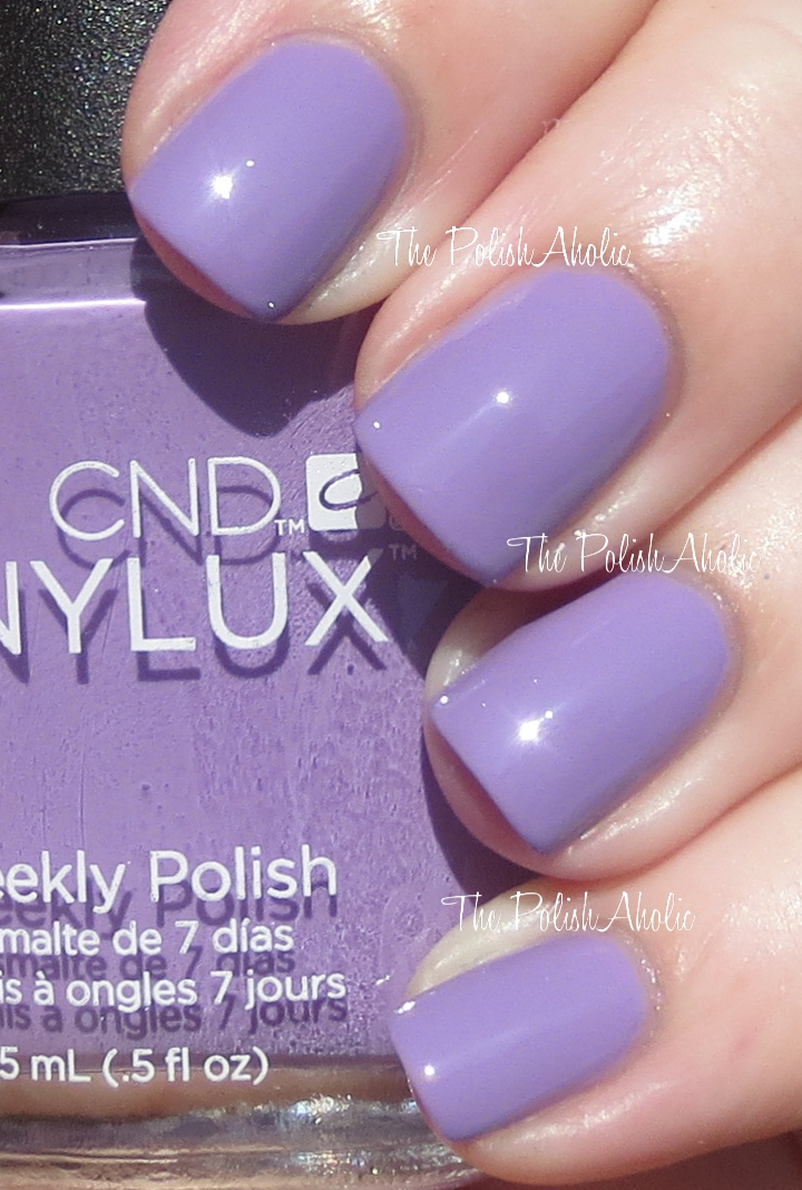 The Polishaholic Cnd Vinylux Swatches Review