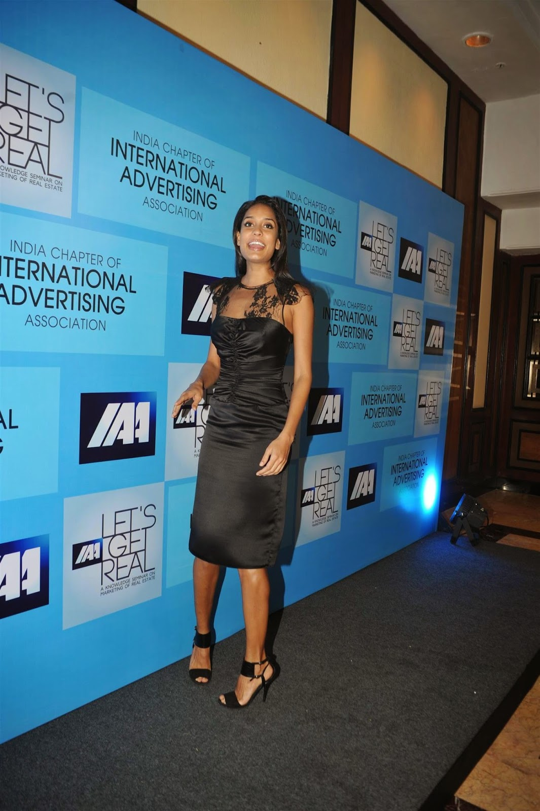 Lisa Haydon attends IAA's Knowledge Seminar Photos