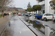 Hoy fotografías de agua, agua de inundaciones invernales. inundaciones camping logronìƒo