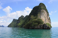 Typical Island seen in Phang Nga Bay