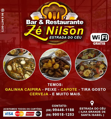 Bar e Restaurante Zé Nilson na Estrada do Céu