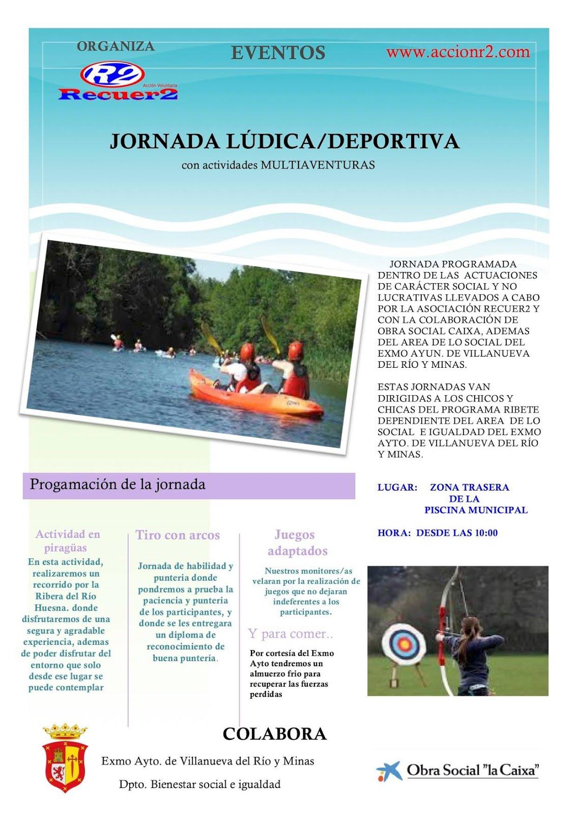 JORNADA LÚDICO/DEPORTIVA