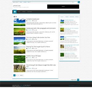Responsive Blogspot Template