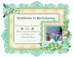 Certificado de cumplimiento!!!!!
