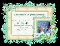 Certificado de cumplimiento!!!!!