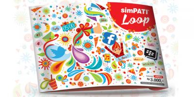 Paket internet Rp.30000 sebulan dapat 6GB untuk Simpati Loop