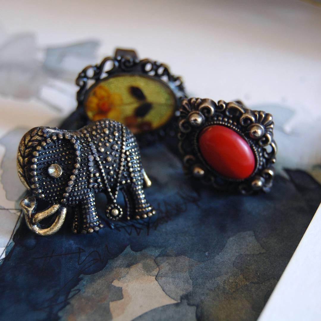 anillos-elefante-boho-moda-vintage