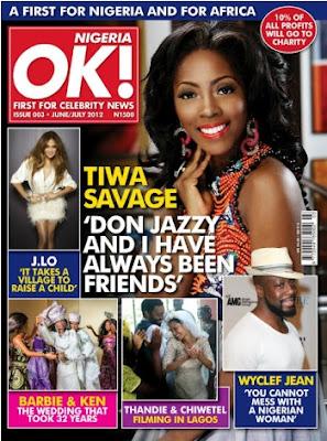 tiwa savage ok magazine nigeria