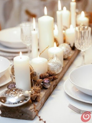 Gold And White Christmas Table Decorations mr gift: six gorgeous ways to dress your christmas table