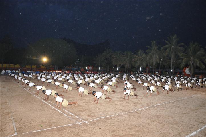Photos at training camp, Gudiyattam
