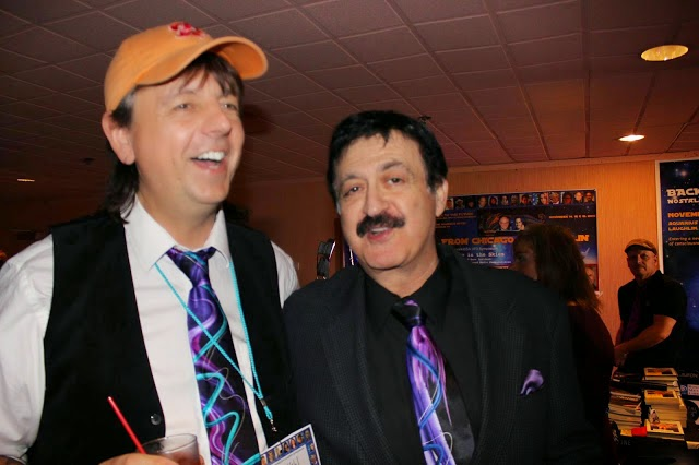 Kevin and George Noory at the UFO Convention