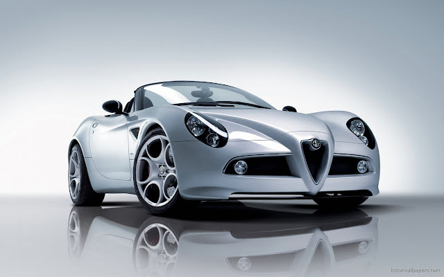 Alfa 8c Spider Wallpapers