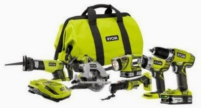 Enter to win the Ryobi Utlimate Combo Tool Set Giveaway. Ends 12/2.