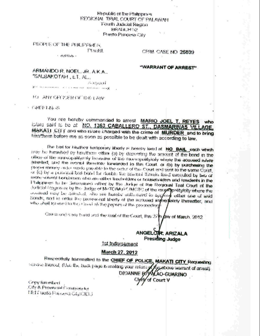 Texas probable cause affidavit arrest warrant template thecheapjerseys Choice Image