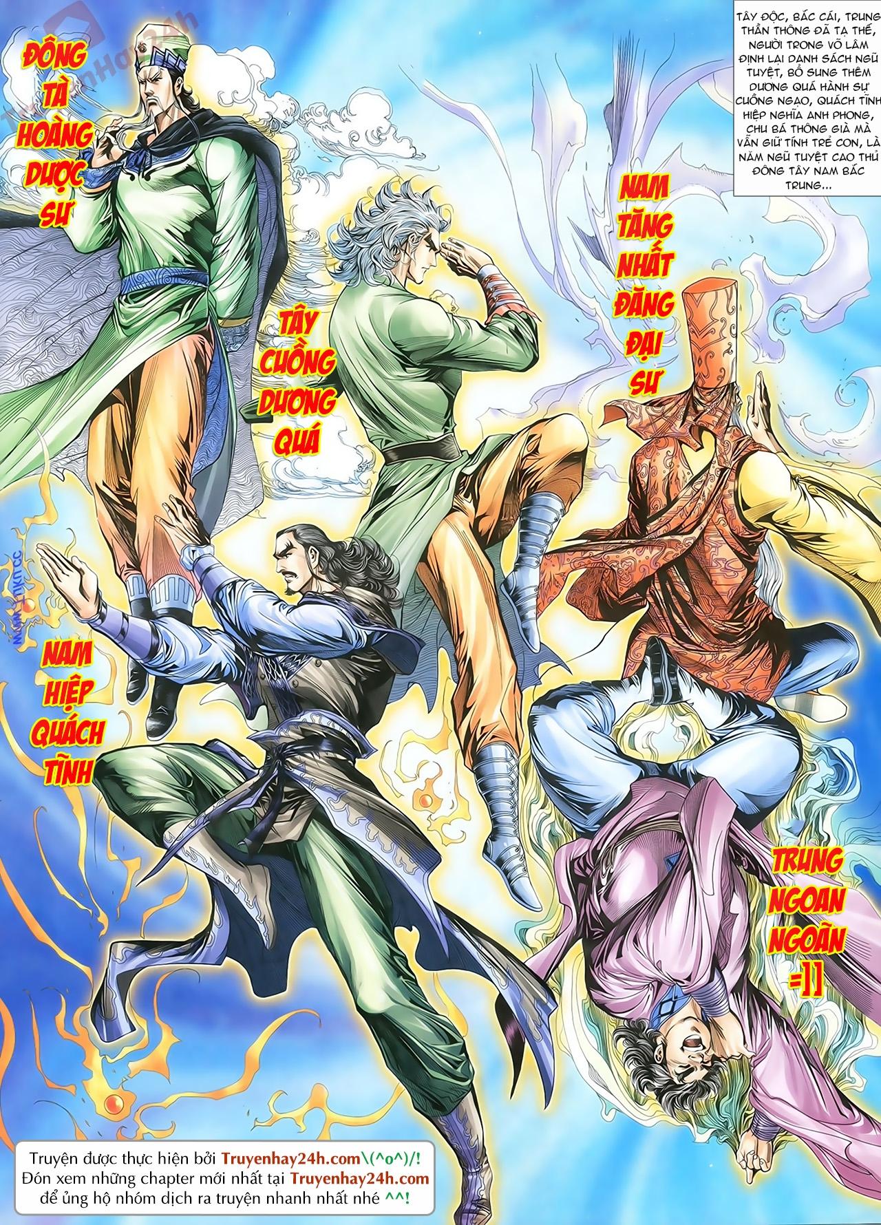 Thần Điêu Hiệp Lữ chap 86 – End Trang 37 - Mangak.info