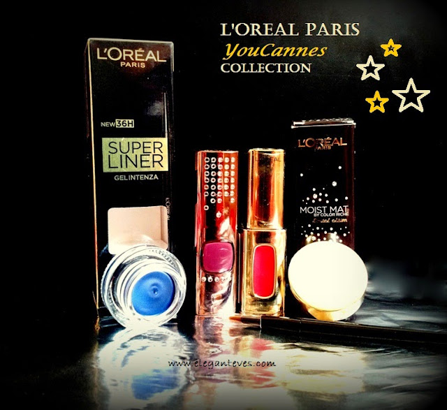 First Impressions: L'OREAL Paris YouCannes 2015 collection and a glossy look!