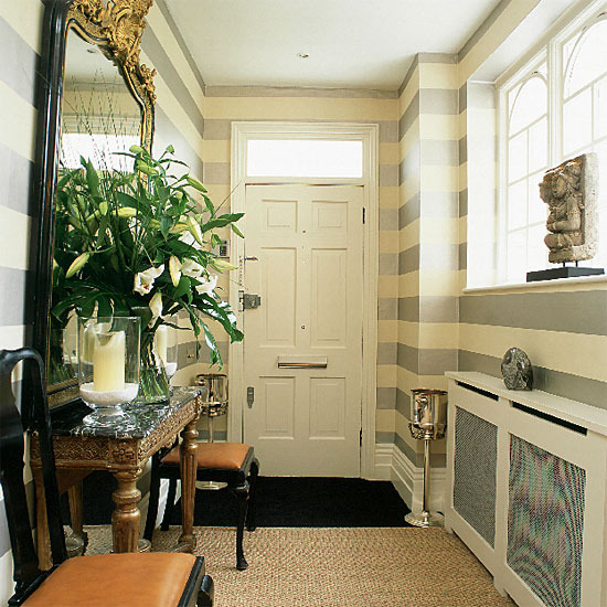 new home interior design modern hallway