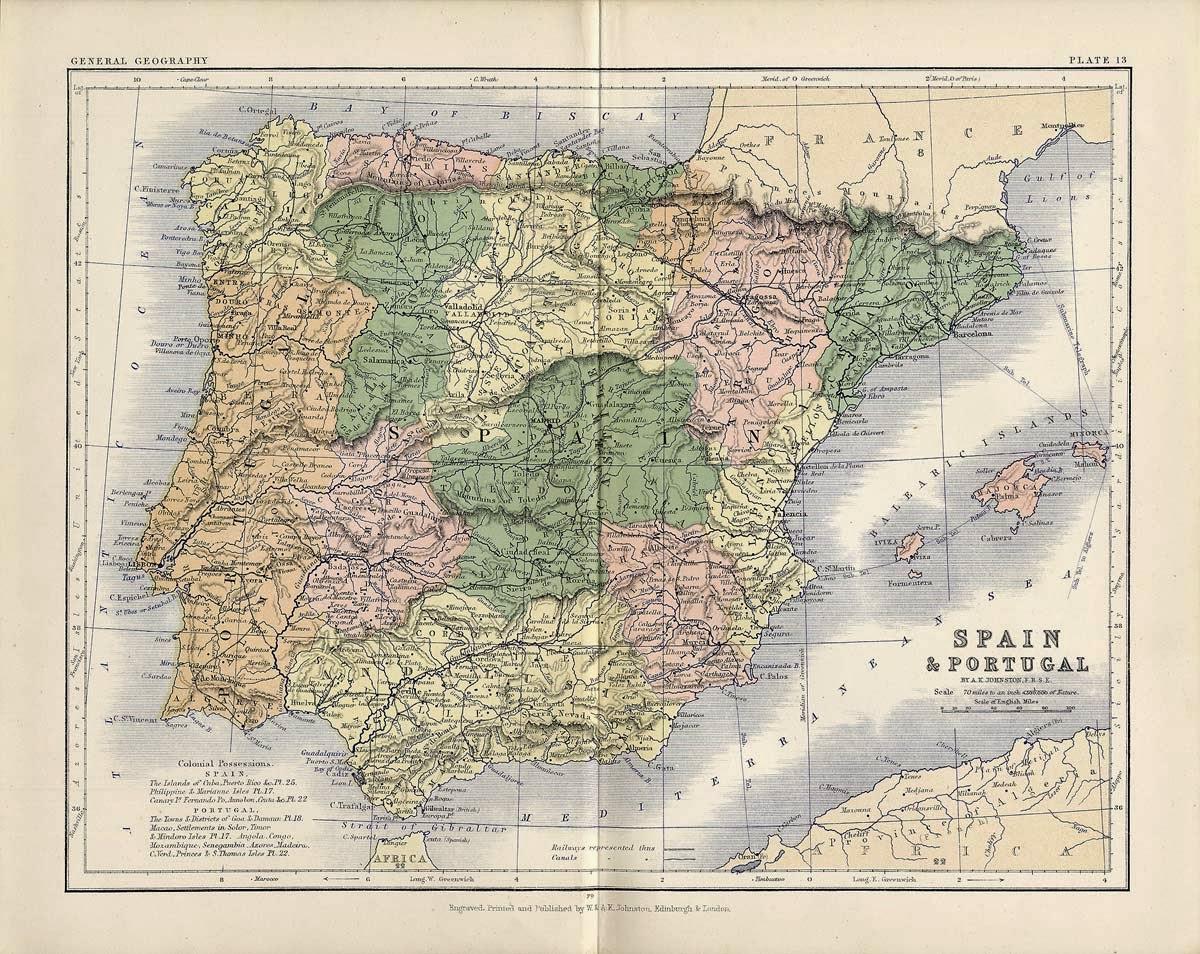 Castilla la Vieja y Castilla la Nueva 1879
