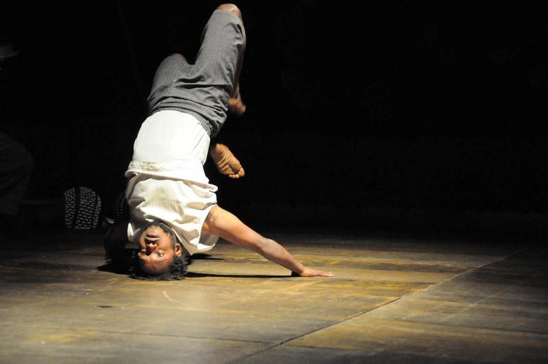 Espetáculo de Dança Água de Beber crédito:Alvaro Bacim