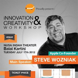Harga TIket Seminar Steve Wozniak Di Jakarta