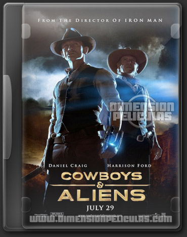 Cowboys & Aliens (DVDRip Español Latino) (2011)