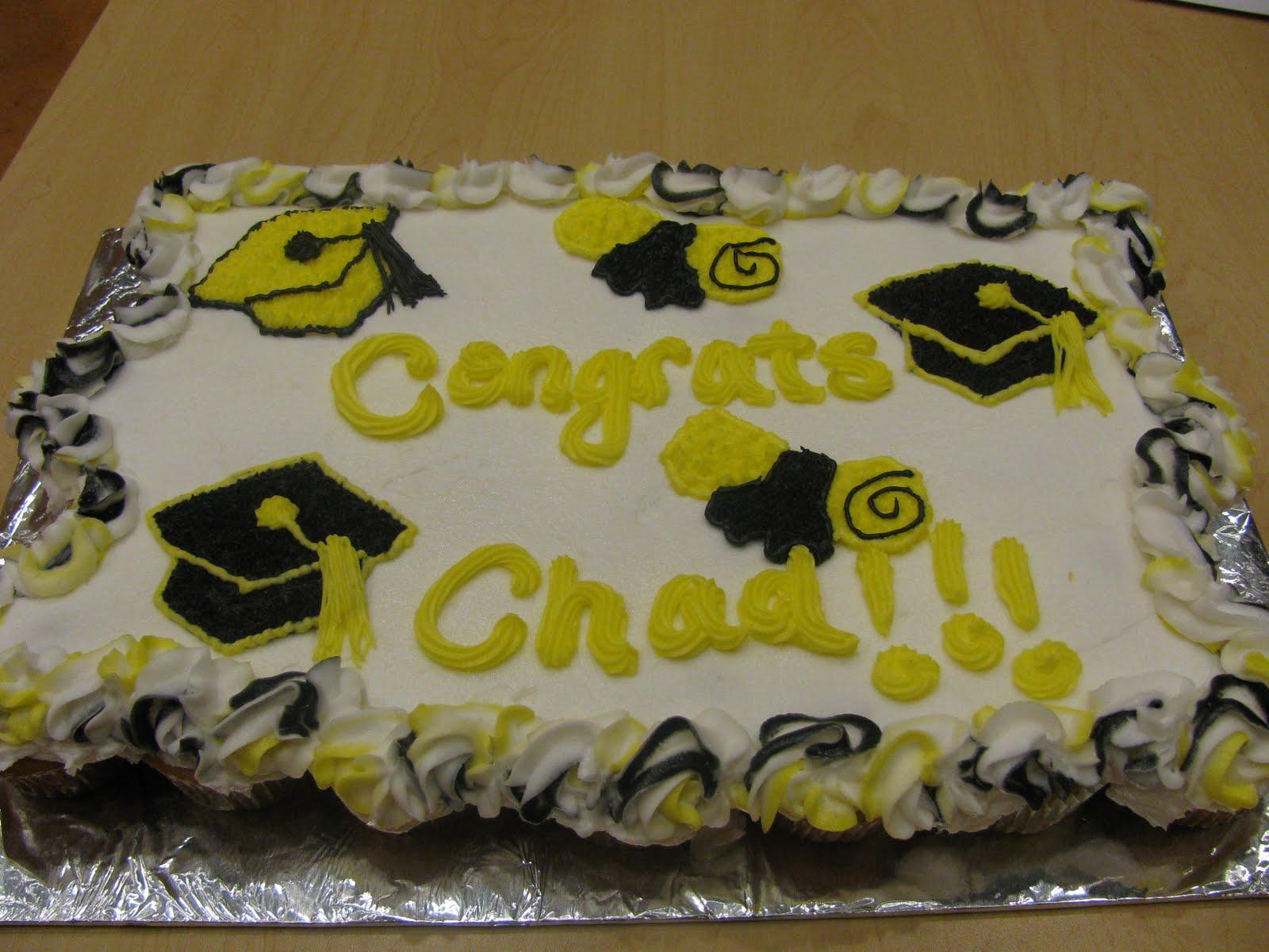 Cupcake Cake Designs For Graduation : C & G Cakes: Graduation Cupcake Cake