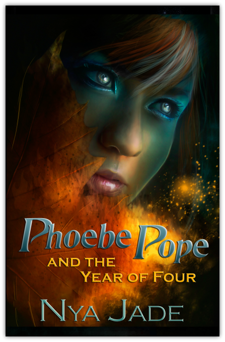 Cover Reveal & Giveaway: Phoebe Pope and the Year of Four by Nya Jade