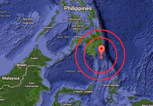 Magnitude 5.0 Earthquake of Caburan, Philippines 2014-10-23
