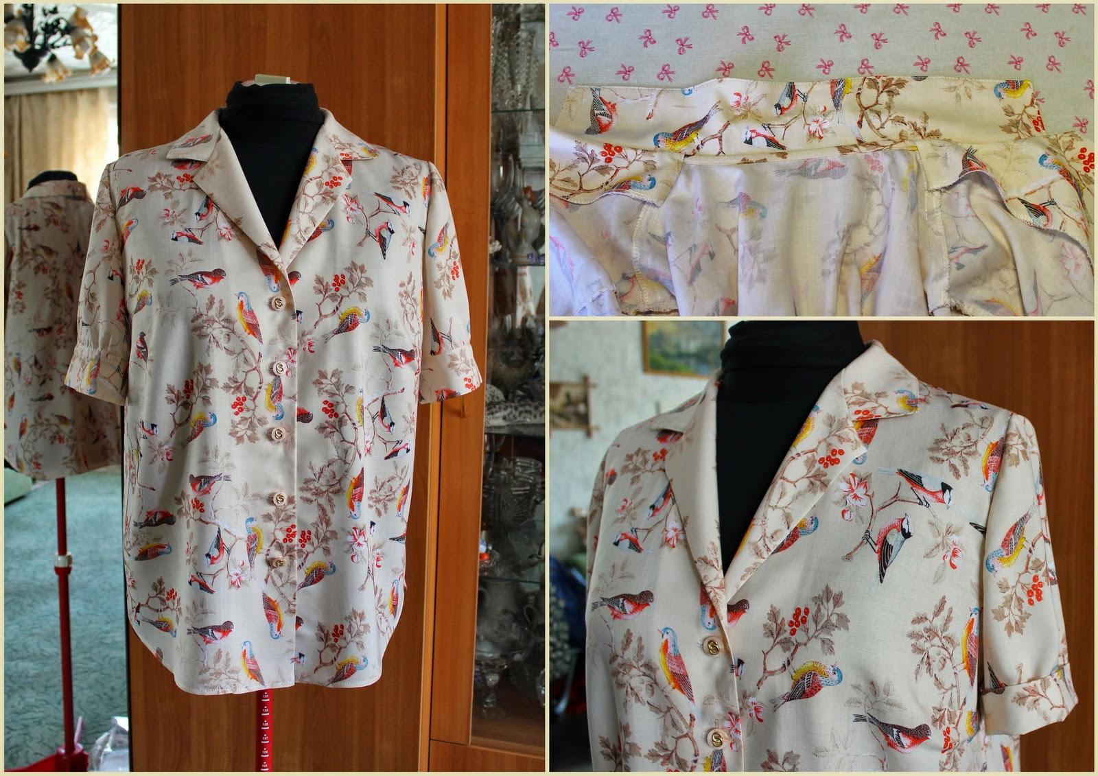 Блуза своими руками (подборка) Кладовочка идей 74
