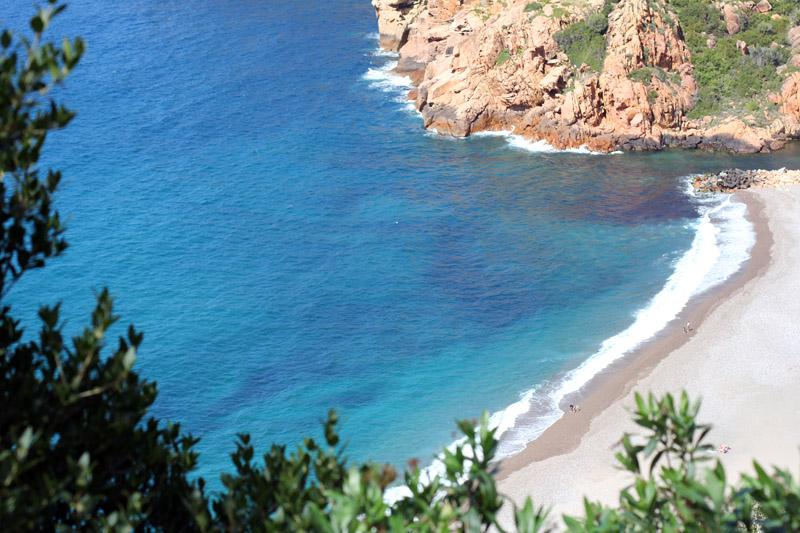 calanque piana corse patrimoine naturel mondial unesco paysage mer turquoise