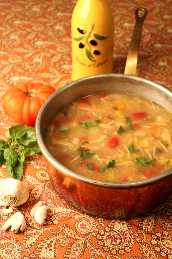 Provencal Vegetable Soup (Soupe au Pistou) - Lake Lure Cottage ...