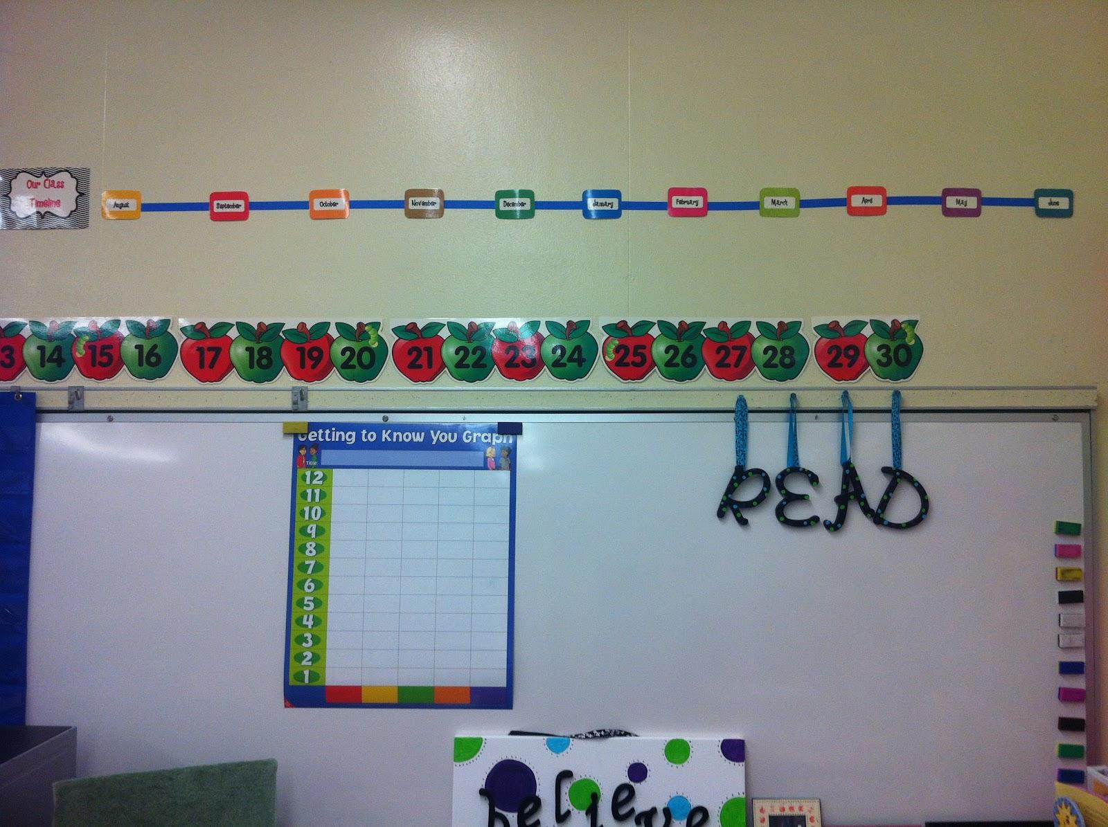 Classroom Timeline Ideas ~ Classroom timeline freebie