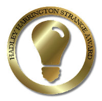 Hadley Harrington Strange Award badge