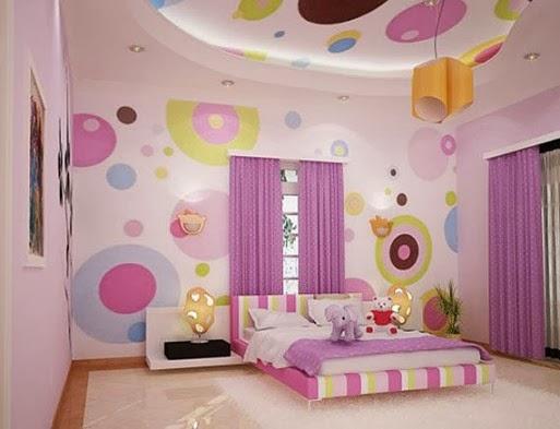 warna kamar tidur perempuan