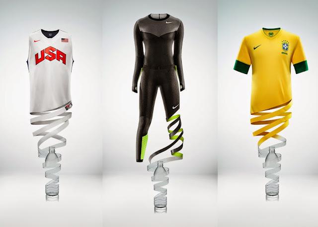 Nike 推出以回收聚酯纖維製造的女性系列服飾 - ACOTEX® 服裝布料知識網