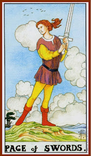 Page of Swords Rider Waite