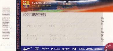 Το Μουσείο της Barcelona στο   Camp Nou