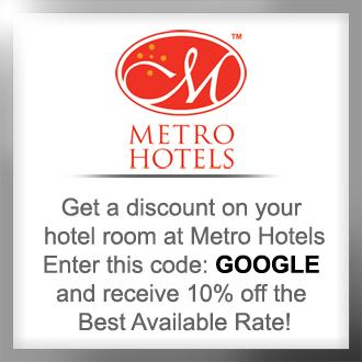 Metro Hotel Discount Promo