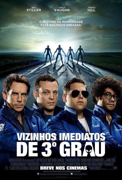 Filme Poster Vizinhos Imediatos de 3º Grau TS XviD & RMVB Dublado
