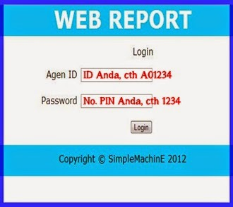 WEB REPORT -klik bawah-