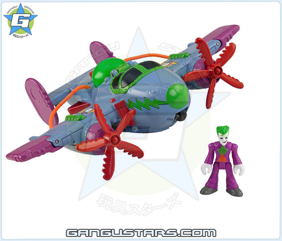 Imaginext DC Super Friends  Joker Plane