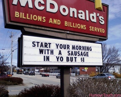 Funny Fast Food Store Names