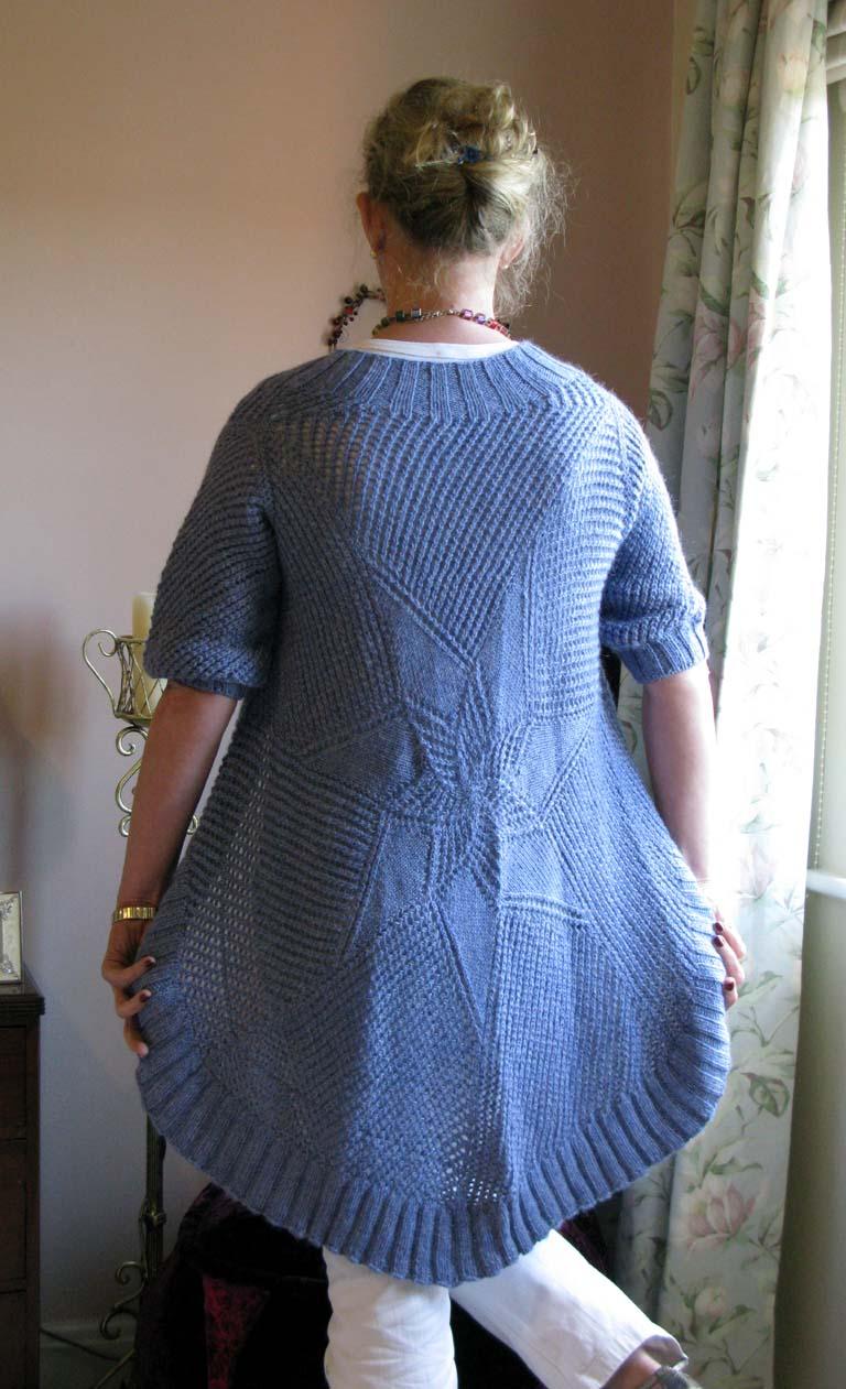 Knitting and More: Circular Shawl Cardi