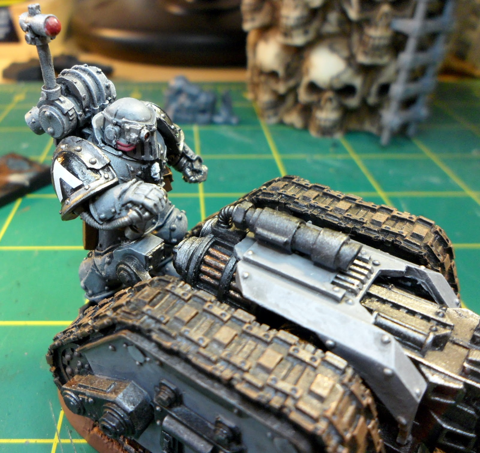 Quad Heavy Bolter Heavy Bolter Carriage Seen