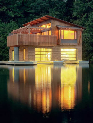 Canadian Muskoka Boathouse and Seasonal Residence