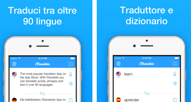 Itranslate supporta ios 9 su apple watch for Traduttore apple